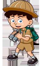 Le cahier des petits explorateurs